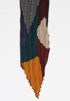 Joy Collectables - Ethnic Print Neck Scarf Multi-colour