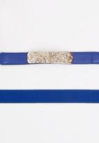 STYLE REPUBLIC - Waist Belt Cobalt