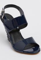 Gino Paoli - Wedge Heels Navy
