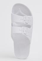 Moses - Moses Freedom Sandals White