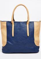 Moda Scapa - Colourblock Tote Bag Navy