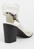 Billini - Instinct Ankle-strap Heels White