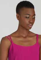 c(inch) - Double Strap Cami Cerise Pink