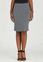edit - Knit Skirt Grey