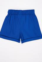 See-Saw - Twill Shorts Mid Blue