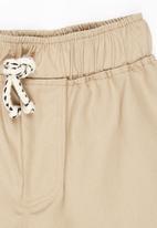 See-Saw - Twill Shorts Stone