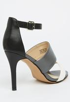Gino Paoli - Ankle-strap Heels Grey