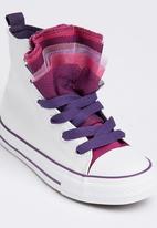 SOVIET - Tulle High Top Sneaker White