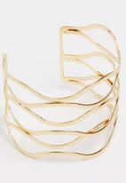 Joy Collectables - Spiral Cuff Gold