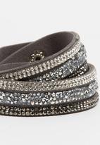 Joy Collectables - Double Wrap Bracelet Grey