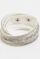 Joy Collectables - Double Wrap Bracelet White