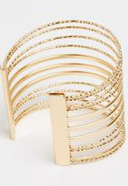 Joy Collectables - Spiral Cuff Gold