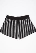 Roxy - Sweety Cheeky Shorts Black and White