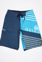 Quiksilver - Incline Logo Boys Boardshorts Navy