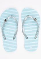 World Tribe - Melody  Flip Flops Pale Blue