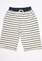 Soobe - Stripe Shorts Navy