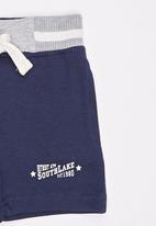London Hub - Fleece Short Navy