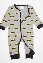 POP CANDY - Printed Batman Jumpsuit Grey