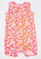 Soobe - Girls Printed Romper Multi-colour