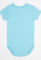 Soobe - Girls Short Sleeve Bodysuit Blue