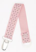 Pickalilly - Hearts Dummy Clip Pale Pink