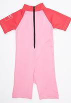 Sun Kids - Beach Girl Sun Suit Pale Pink