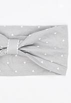 Pickalilly - Girls Printed Head Band Grey