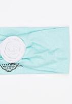 Myang - Headband With Flower Detail Green