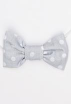 Pickalilly - Girls Bow Head Band Grey