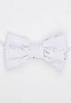 Pickalilly - Girls Bow Head Band White