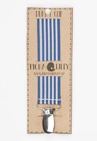Pickalilly - Stripe  Dummy Clip Navy