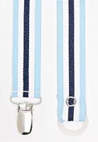 Pickalilly - Stripe  Dummy Clip Blue