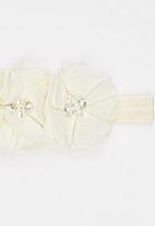 POP CANDY - Flower  Headband Cream