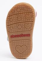 shooshoos - Cherries Jubilee Sandal White