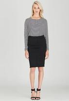 Kate Jordan - Pintuck Skirt Black
