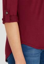 Kate Jordan - Casual Knit Dark Red