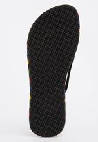 Joy Collectables - Stripe Flip-flops Multi-colour