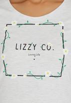 Lizzy - Roma Tee Grey Melange