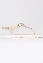 Candy's - Jelly T-Bar Sandal Neutral