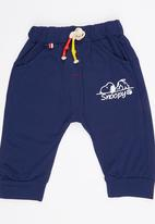 POP CANDY - Printed Jogger Navy