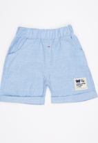 POP CANDY - Blue Shorts Pale Blue