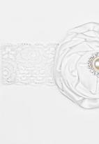 POP CANDY - Lace Headband White
