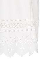 See-Saw - Cut-Out Hem Summer Dress White