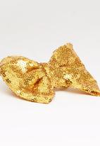 POP CANDY - Sparkled Bow Clip Gold