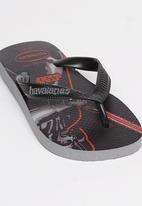 Havaianas - Star Wars Flip Flops Black and Grey