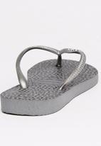 Havaianas - Slim Animal  Flip Flops Grey