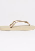 Havaianas - Slim Flip Flops Beige