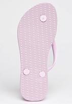 Havaianas - Slim Floral  Flip Flops Mid Pink