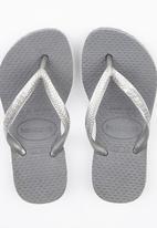 Havaianas - Slim Flip Flops Pale Grey