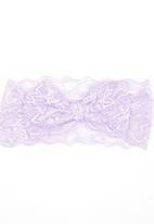 POP CANDY - Lace Headband Pale Purple